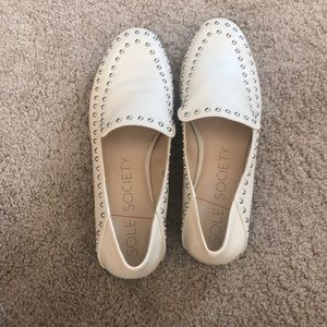 Sole Society Studded Loafer 8
